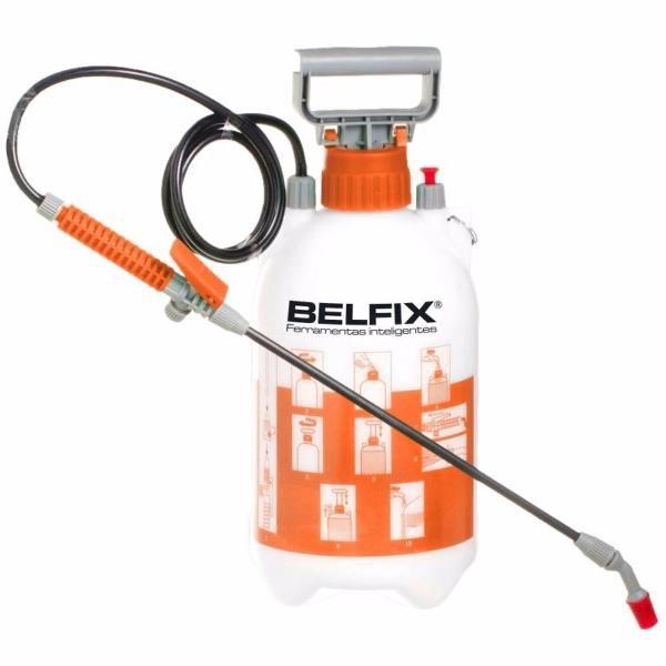 Pulverizador 5 Litros Pressão Borrifador Expargidor Dedetização Bel Fix 209400