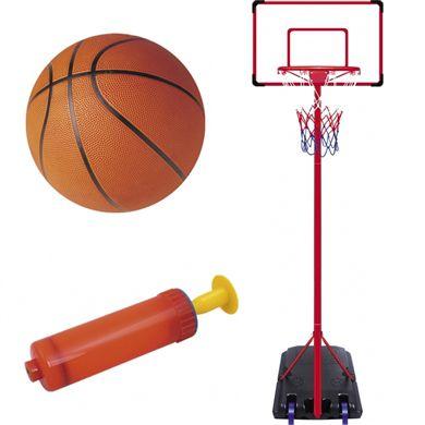 Tabela Basquete Ajustável 2,6m Aro Rede Bola Inflador Bel Sports 488600