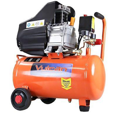 Compressor De Ar 2.5HP 25 Litros Duplo 2 Saídas 110v Vulcan 56655