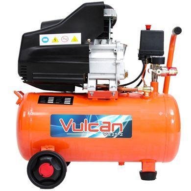 Compressor De Ar 2.5HP 25 Litros Duplo 2 Saídas 220v Vulcan 56662