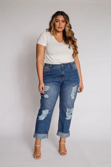 Calça Jeans Boy Friend