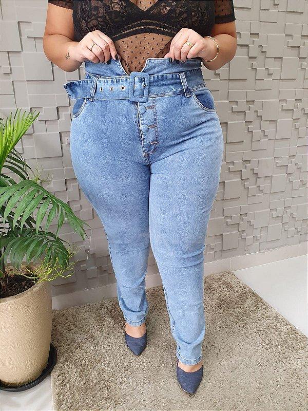 Calça Jeans Clochard Botões