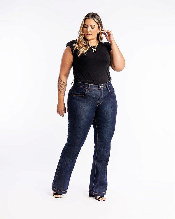 Calça Jeans Flare Tradicional