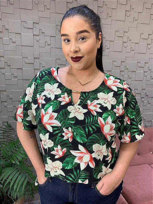 Blusa Floral Pianeta