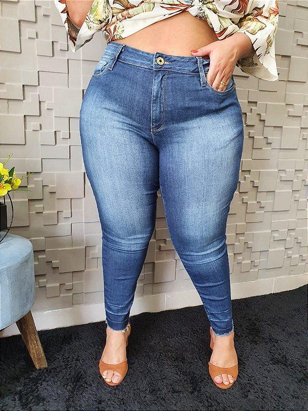 Calça Jeans Cropped BB