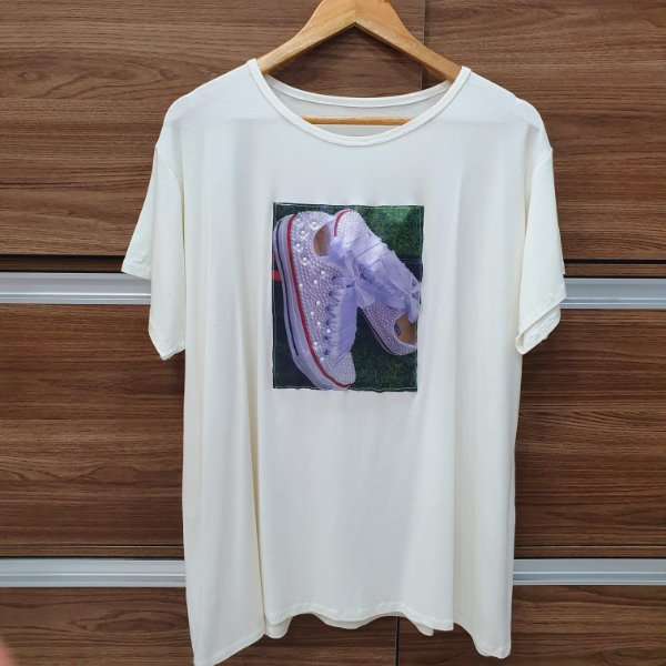 T-shirt Tênis Off White