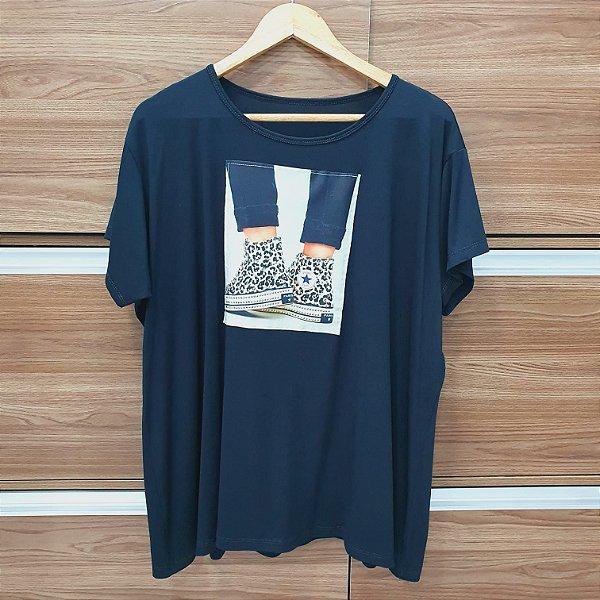 T-shirt Tênis Onça
