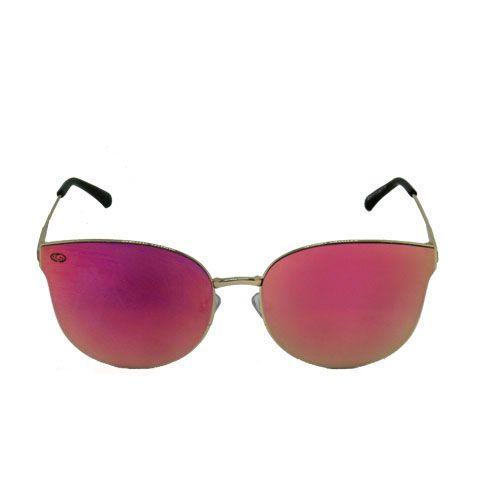 Óculos de Sol Gatinho Dourado