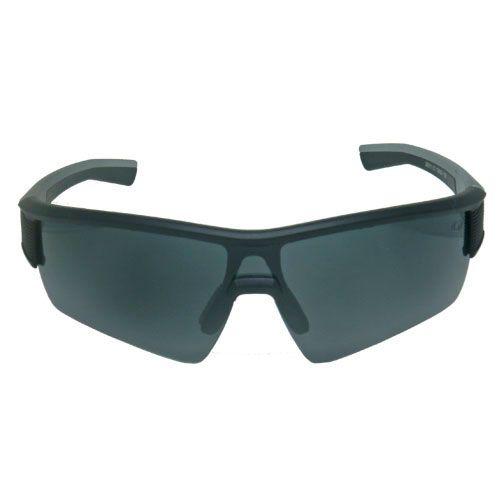 Óculos de Sol Esportivo Preto e Cinza