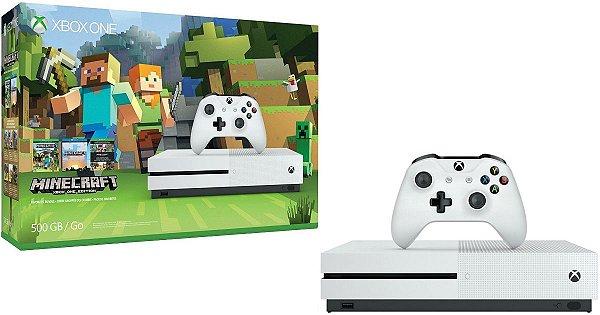Console Xbox One S 500gb Minecraft