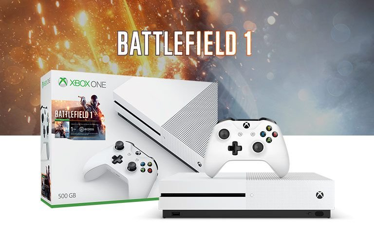 Console Xbox One S 500gb Battlefield 1