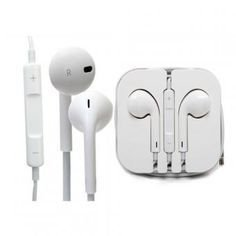 Fone de Ouvido para iPhone Branco