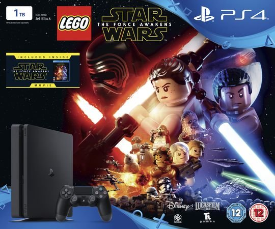 Consola Sony PS4 Black 1TB LEGO Star Wars: The Force Awakens