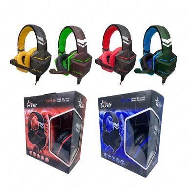Headset Para PS4 Xbox One FR-510