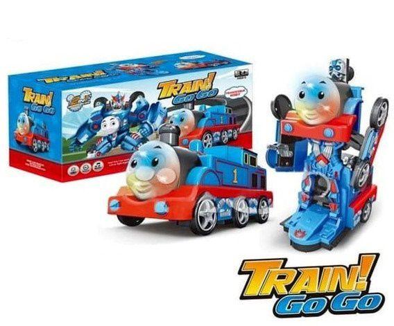 Trem Robô -  Train GO GO Thomas