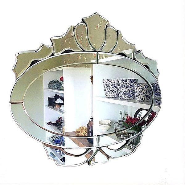 Espelho veneziano oval