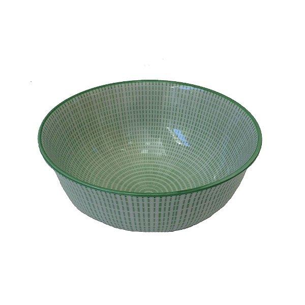 Bowl em porcelana estampada modelo 06
