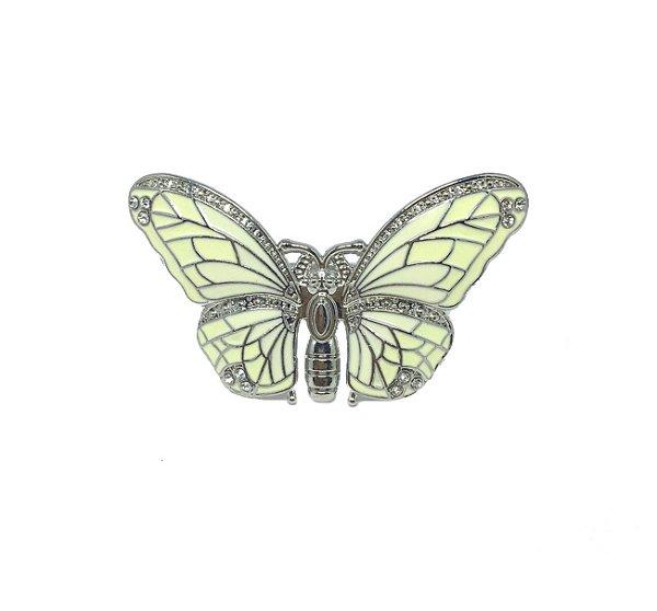 Porta guardanapo borboleta metal