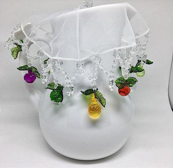 Cobre jarra de frutinhas