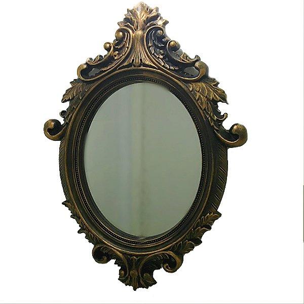 Espelho rococó cobre
