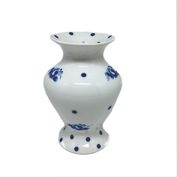 Vaso em porcelana estampado modelo 02