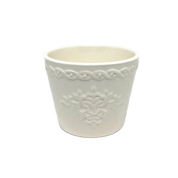 Cachepot PP em cerâmica