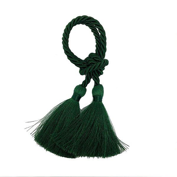 Porta guardanapo em tassel verde