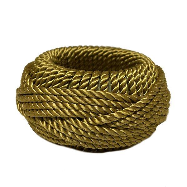 Porta guardanapo fio dourado