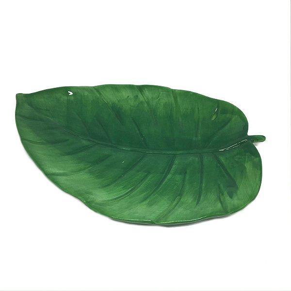 Folha em cerâmica verde