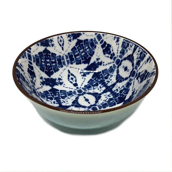 Bowl estampa azul modelo 01