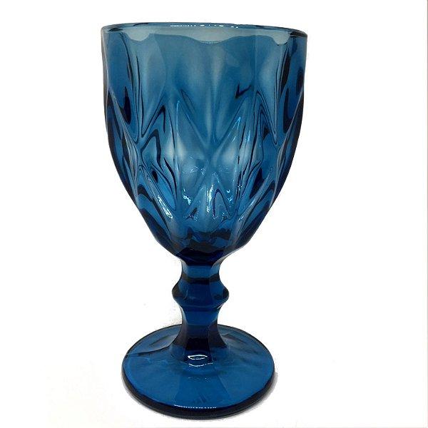 Taça para água azul