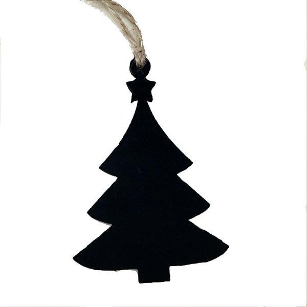 Pingente lousa árvore de natal