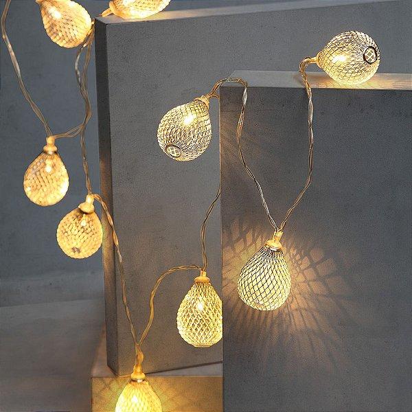 Luzes decorativas gotas