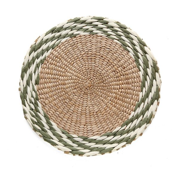 Jogo americano cordas verde