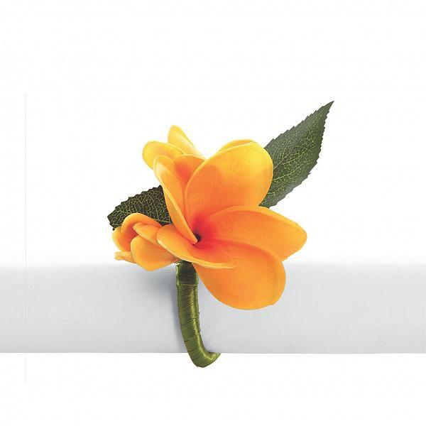 Porta guardanapo jasmin amarelo