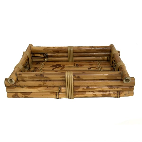 Bandeja bambu PP
