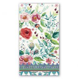 Guardanapo de papel estampado floral