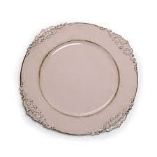 Sousplat provençal rosa