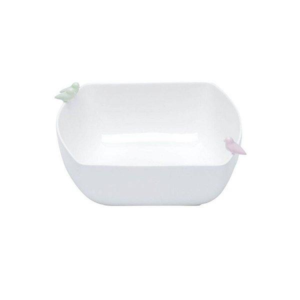 Bowl de porcelana bird M
