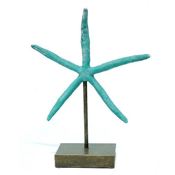 Escultura estrela do mar M