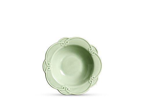 Prato fundo em cerâmica verde celadon
