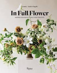 Livro decorativo In Full Flower