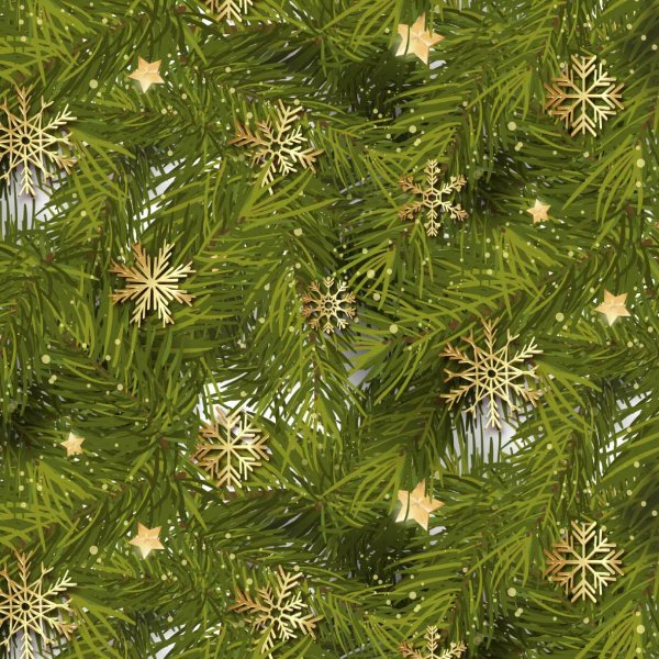 Guardanapo de tecido com estampa natalina verde com estrelas