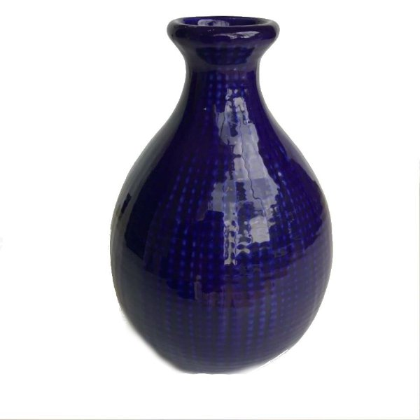 Vaso azul cobalto modelo 2
