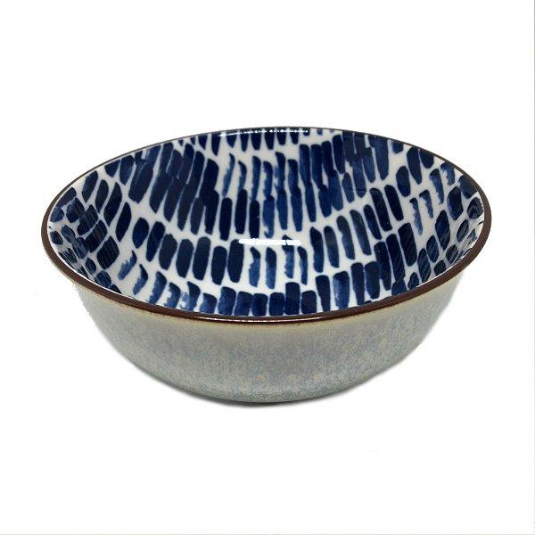 Bowl estampado azul 2