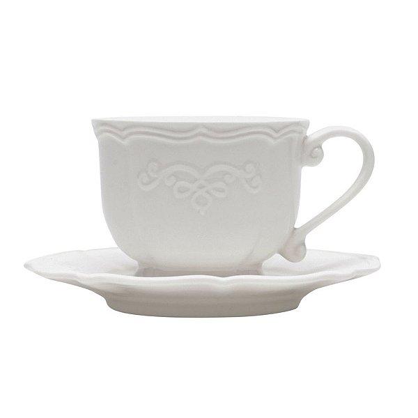 Xícara para café em porcelana Genebra