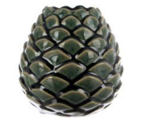Vaso em cerâmica verde P