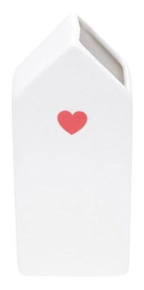 Vaso cerâmica love M
