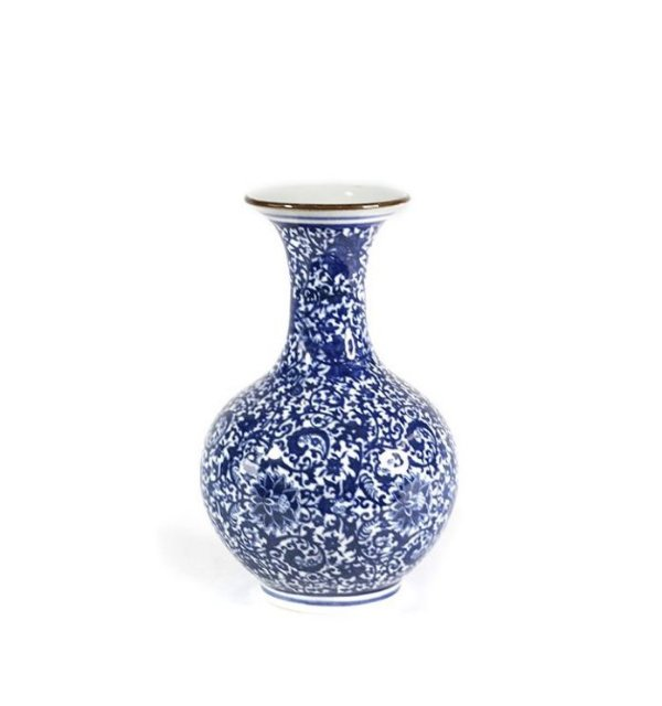 Vaso cerâmica portuguesa 19cm