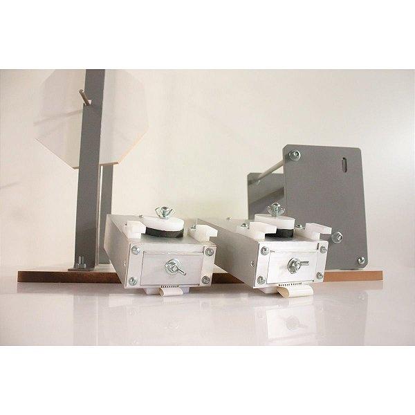 Coladeira de borda modelo 2 fitas c/ reservatório em alumínio intercambiável